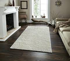 gy floor rugs collection solid cream color high soft pile carpet thick plush fluffy furry children