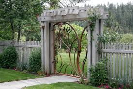 Small Picture 15 best Garden Gate With Arbor Arbors garden gates and short