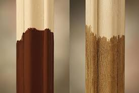 odl trisys frame in fibermate oak material painted or stained