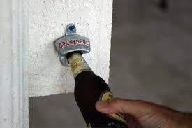 classic wall mounted bottle opener