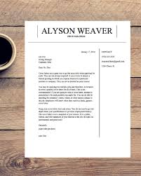 Professional Resume Template Cover Letter Cv Microsoft Word