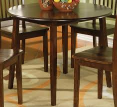 gorgeous 42 inch kitchen table 1 round dining set with leaf homesfeed pedestal