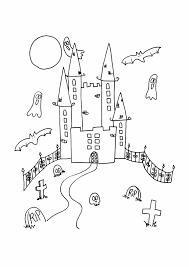Disegno Da Colorare Castello Stampae Colorare