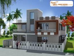 Modern 3 Bedroom House Design 3 Bedroom Modern Duplex 2 Floor House Design Area 285 Sq Mts