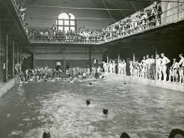 Mansion with indoor pool with diving board Custom Built Topsimagescom Diving Into The History Of Milwaukees Natatoria Onmilwaukee
