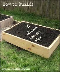 build a garden. Plain Garden How To Build A Raised Garden Bed To Build A Garden _