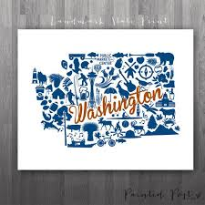 30 best washington love images on pinterest Gonzaga Map Spokane spokane washington landmark state glicée print by paintedpost, $15 00 paintedpoststudio gonzaga university gonzaga campus map spokane