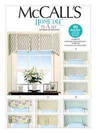 Patterns For Valances Unique M48 Valances In Four Styles Sewing Pattern McCall's Patterns