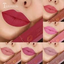 matte lipstick rose bean paste