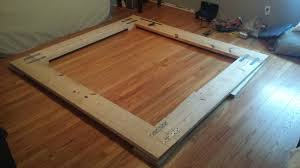 how to build a platform bed frame luxury easy d i y shanty 2 chic