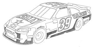 Nascar Car Drawing At Paintingvalleycom Explore Collection Of