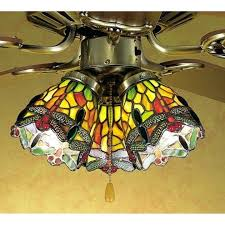 stained glass ceiling light. Stained Glass Lights Ceiling Fan Light Shades Home Depot Fans With Low .
