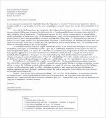 Printable Re mendation Letter for Employment PDF Download