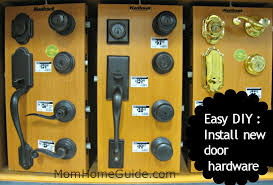 front door locksEasy DIY Install New Door Hardware