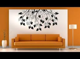 simple living room wall painting ideas