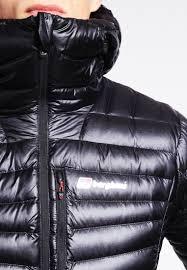 berghaus down jacket jet black red dahlia men ski snowboard jackets berghaus