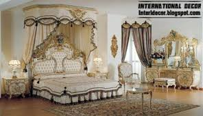 latest bedroom furniture designs 2013. Royal Classic Bedroom 2013 Interior Design, Glided White Furniture  Latest Designs