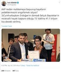 Selçuk Bayraktar در توییتر