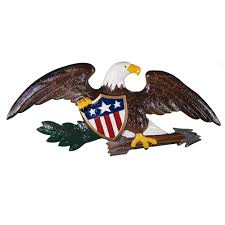 deluxe natural color wall eagle