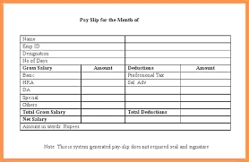 Salary Slip Word Format Fake Payslip Template Salary Slip Format Word Doc Fresh Professional