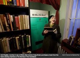 Used Book Vending Machine Interesting THE BIBLIOMAT Craig Small