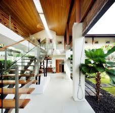 Interior:Tropical Interior Design To Keep Your Positive Energy Brilliant Tropical  Interior Design With Wooden