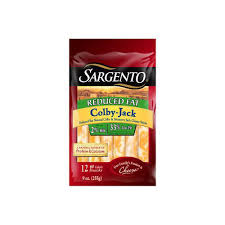 sargento reduced fat colby jack string cheese
