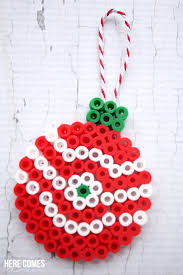 Christmas Tree Design 1  Hama Bead PatternPerler Beads Christmas Tree