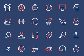 Two Tone Icons Free Sport Icons And New Examples Designmodo