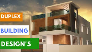 Front Elevation Designs For Duplex Houses In India Duplex House Front Elevation Designs In India Luxury House