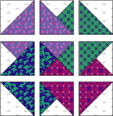 150+ Free Quilt Block Patterns and Inspiration from ... & Card Trick Quilt Block ... Adamdwight.com