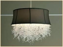 full size of organza drum shade crystal chandelier jolie antique black semi flush mount silver mist