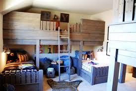 Built In Bunk Beds Built In Loft Beds For Adults Ideas Intended Design