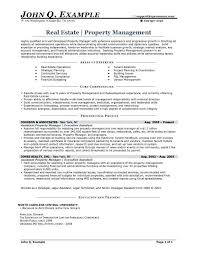 Apartment Manager Resume Beautiful Resumes For Property Managers