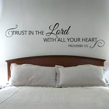 scripture wall decals scripture wall decal trust in the lord with all your heart verse