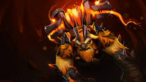 download wallpaper 1920x1080 earthshaker dota 2 art full hd