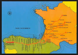 el camino de santiago! coolhikinggear com Camino De Santiago Map el camino de santiago map camino de santiago mapa