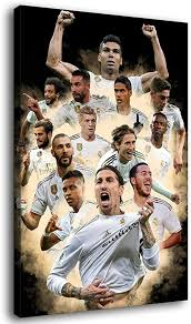 Real madrid desktop backgrounds, sport, stadium, team sport. Amazon Com Real Madrid Wallpaper 2020 Canvas Art Poster And Wall Art Picture Print Modern Family Bedroom Decor Posters Home Kitchen
