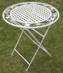 maribelle folding metal garden table furniture outdoor value l and chairs nurani bench with bar white foldable feet small patio portable