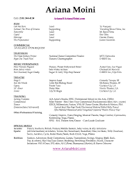 Free Acting Resume Template Acting Resume Template Free Httpwwwresumecareeracting 23