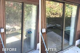 replace door with window window repair replace broken glass door window