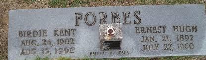 Birdie Leone Kent Forbes (1902-1996) - Find A Grave Memorial