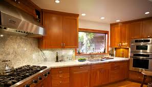 ... Led Kitchen Light Fixtures And More Inside Round Five Ceiling Lamp  Brown Glossy Wooden Furniture Marble ...