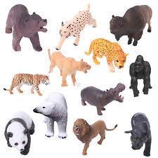 plastic zoo animals toys. Perfect Plastic 1Pc Plastic Zoo Animal Figure Model Tiger Leopard Hippo Giraffe Kids Toy Inside Animals Toys L