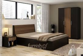 Mdf Bedroom Furniture Essien Mdf Hdf Bedroom Set King Size Bed Bedside Table