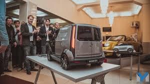 Столичные студенты организовали шоу дизайн проектов автотранспорта  Проект Олега Трубникова skoda