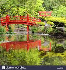 Japanese Style Garden Bridges Japanese Garden Bridge Nature Stock Photos Japanese Garden