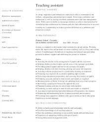 Teaching Resume Templates Impressive Sample Preschool Teacher Resume Kindergarten Teacher Resume Sample