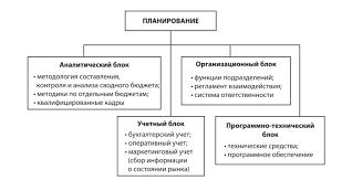 Финансовое планирование в организации Инфраструктура финансового планирования организации новой информационного блока компонента финансового планирования являются