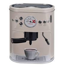 Kitchen Tea Gift Retro Coffee Machine Style Kitchen Cake Tea Coffee Storage Tin